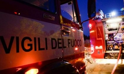 Incendio in discoteca, paura a Desenzano