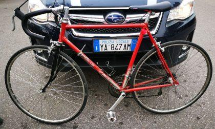 Ritrova la bici rubata dopo due anni