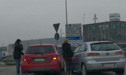 Incidente stradale nei pressi del centro commerciale di Legnago
