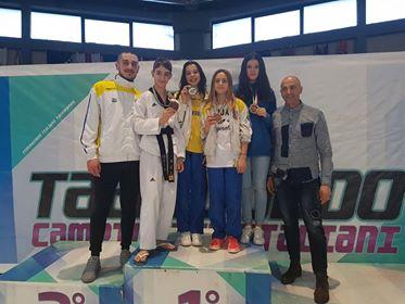 Taekwondo Verona trionfa ai campionati italiani