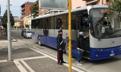 Denunciato per le minacce al conducente dell'autobus
