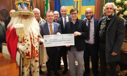 Carnevale veronese raccolti diecimila euro per Abeo