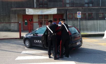 Rubava in palestra a Minerbe: arrestato dai Carabinieri