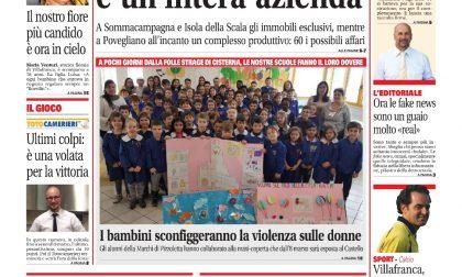 Prima pagina VillafrancaWeek è in edicola
