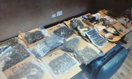 Arresto per droga operazione dei Carabinieri di Villafranca FOTO e VIDEO