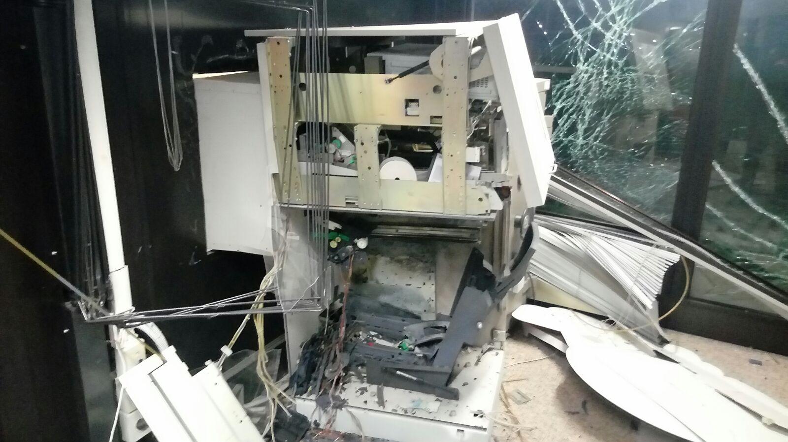 Bancomat esploso a Dossobuono di Villafranca
