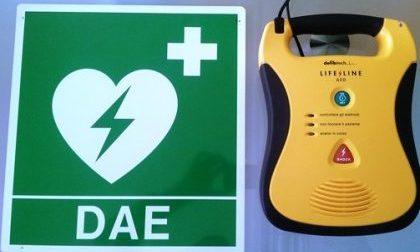Corso defibrillatore diplomi alla scuola di polizia di Peschiera del Garda