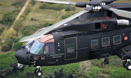 Aeronautica militare esercitazione in Lessinia