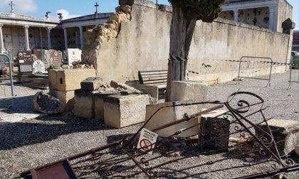 Cimitero di Pieve, il portale distrutto è ancora oggetto di discussione