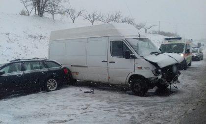 Emergenza neve a Valeggio un incidente
