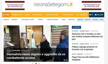 E' nato VeronaSettegiorni.it primo portale veneto del Gruppo Netweek