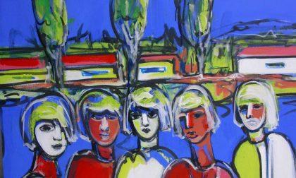 Mostra d'arte unisce pittura scultura e poesia