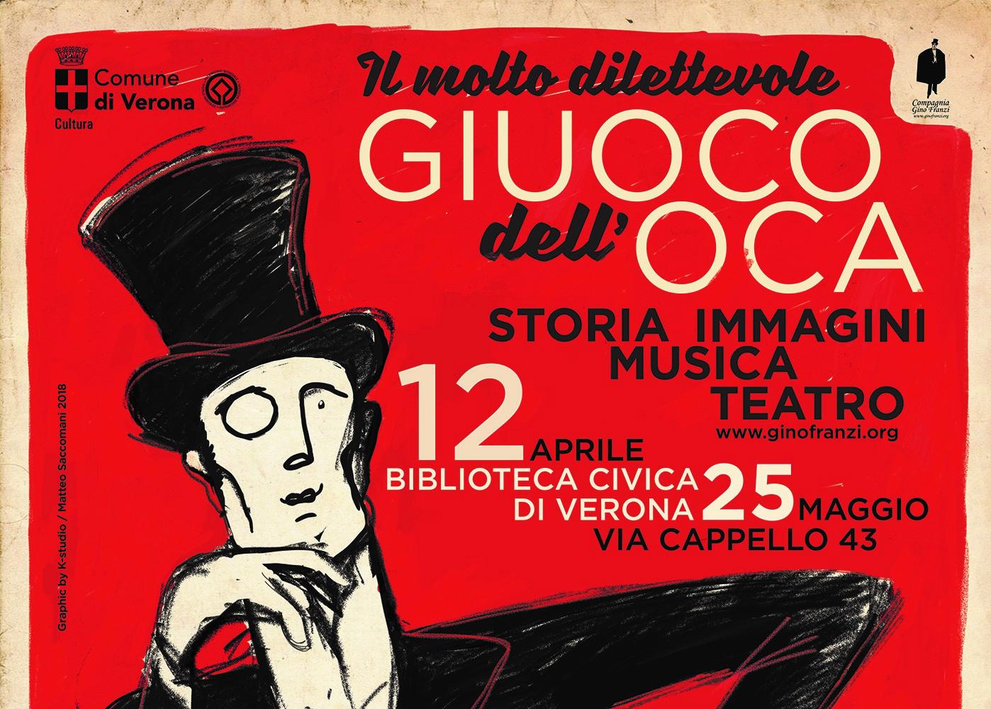Teatro e solidarietà a Verona con il gioco dell'oca