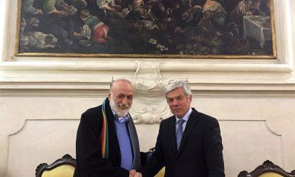 Carlo Petrini socio onorario dell'accademia