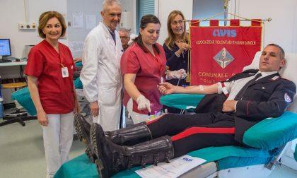Donazioni carabiniere raggiunge quota 130