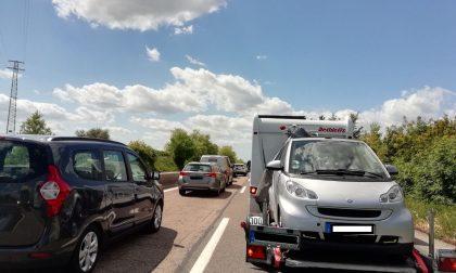 Traffico in tilt sul lago di Garda
