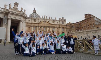 I ragazzi della Feralpisalò in Vaticano