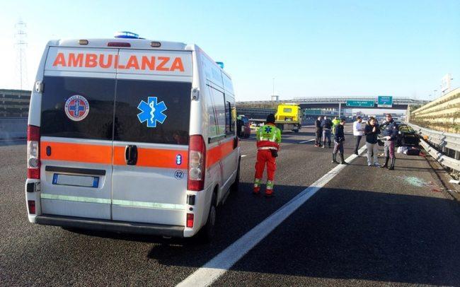 Incidente in A4 tra grandi mezzi