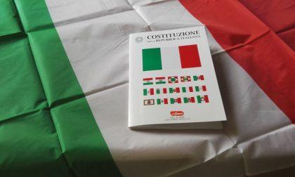 Festa della Repubblica Costituzione e tricolore ai neo-diciottenni