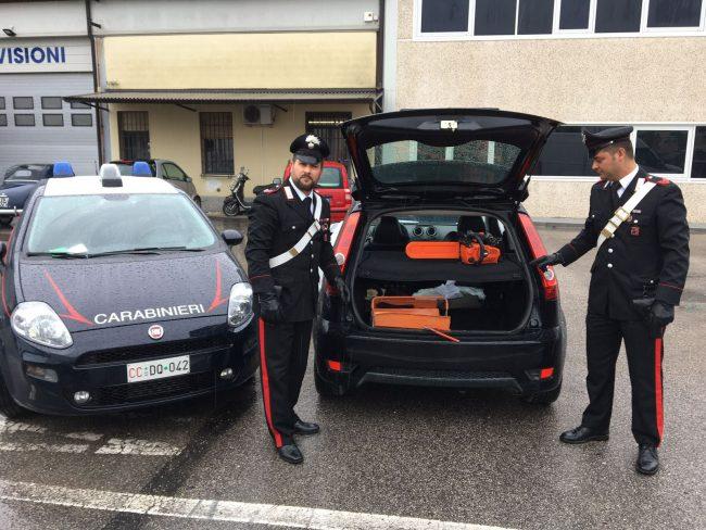 Fugge dai carabinieri a Lazise, arrestato