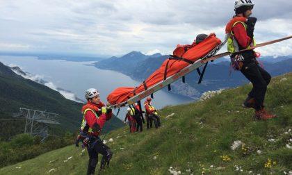 Escursionista tedesca si ferisce sul Monte Baldo