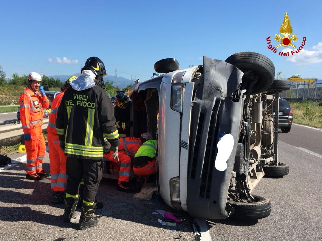 Incidente in tangenziale sud - Verona Settegiorni