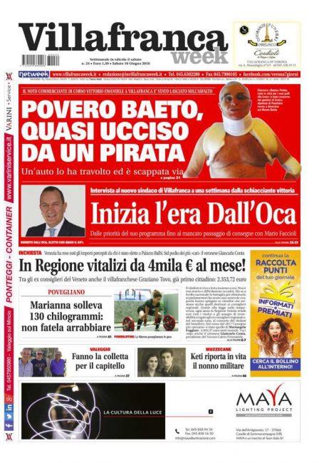 prima pagina Villafrancaweek