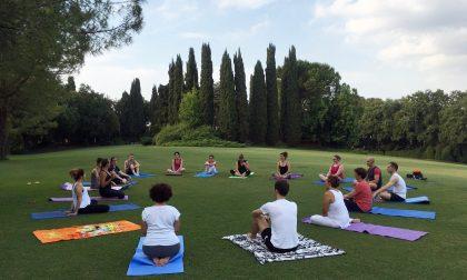 Yoga al parco il Giardino Sigurtà ripropone l'iniziativa