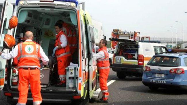 Cinque feriti in un frontale a Buttapietra