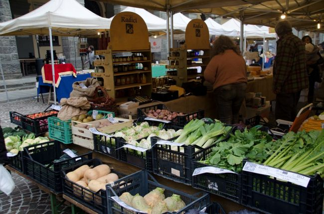 Slow food in piazza a Sommacampagna
