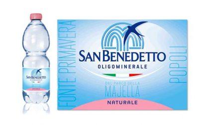 Minerale San Benedetto ritirata per presenza idrocarburi