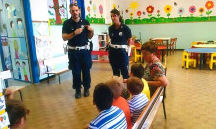 Educazione stradale Polizia municipale per le scuole