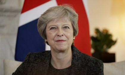 Theresa May in vacanza sul Garda