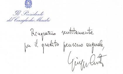 Premier Conte risponde all'associazione