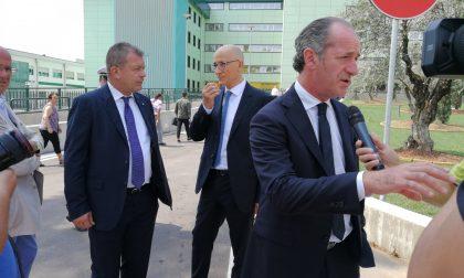 Grezzanella la battuta del presidente Luca Zaia