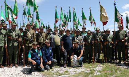 Alpini veronesi in pellegrinaggio sull'Ortigara