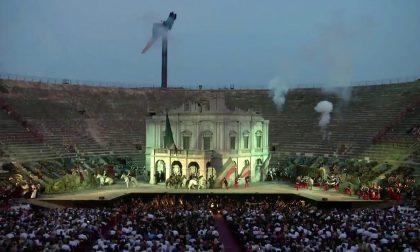 Nabucco in Arena questa sera la prima