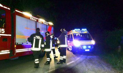 Auto si ribalta nella notte a Nogara, due feriti: uno è grave