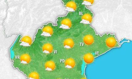 Le previsioni meteo per domenica