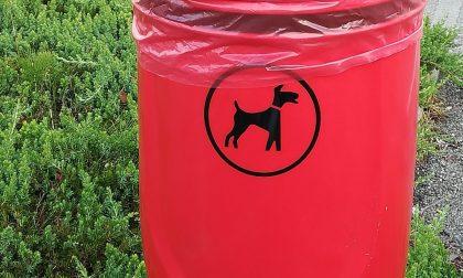 Posati cinque contenitori per le deiezioni canine a Villa Bartolomea