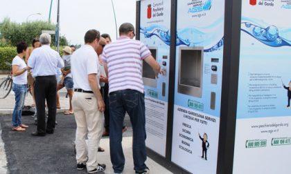 Casette dell'acqua Ags: boom di utilizzo
