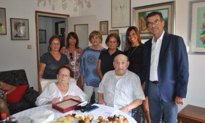 Cent'anni di vita e 76 di matrimonio, auguri Pasquale!