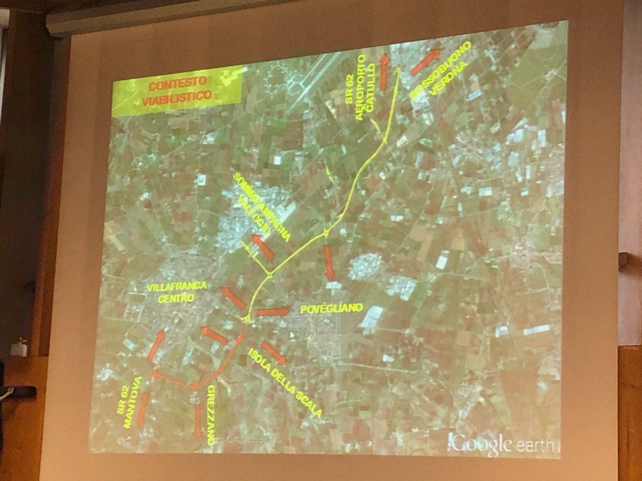 Grezzanella, l'assessore De Berti annuncia che manca poco alla realizzazione dell'opera tanto attesa per liberare il centro di Villafranca dal traffico.