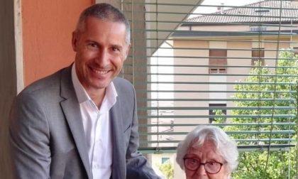 Signora dell'otto festeggia i suoi cent'anni