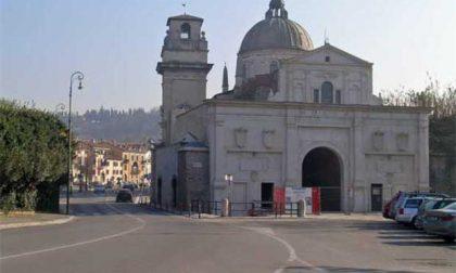 Porta San Giorgio, strada chiusa per lavori