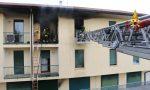 Appartamento in fiamme a Breganze