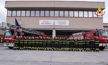 Vigili del fuoco: il nuovo distaccamento di Villafranca