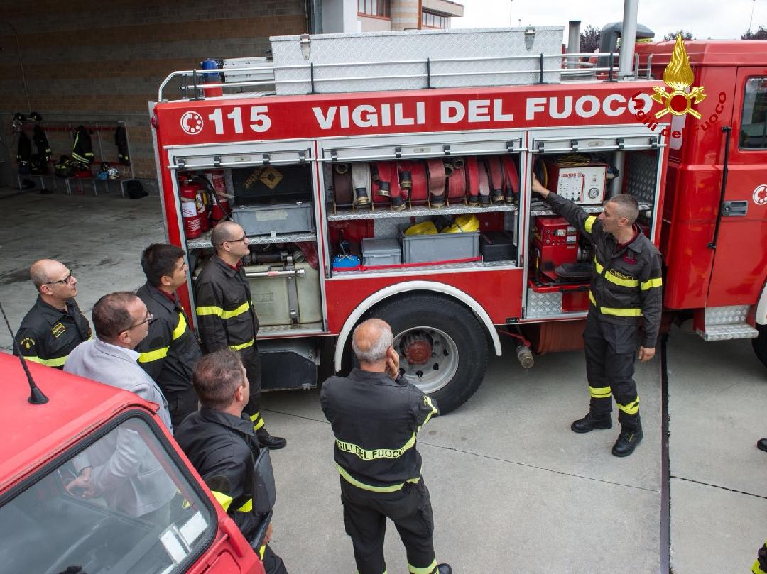 Vigili del fuoco: il nuovo distaccamento di Villafranca. Il presidio temporaneo coprirà otto territori del villafranchese.