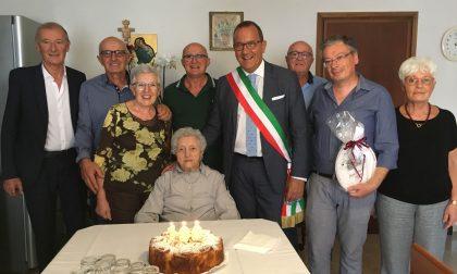 Maria Cordioli ha compiuto un secolo