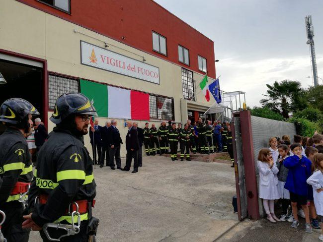 Inaugurata nuova caserma dei vigili del fuoco di Caldiero FOTO
